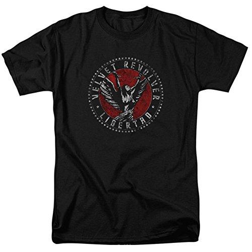 Velvet Revolver - Circle Logo T-Shirt Size L