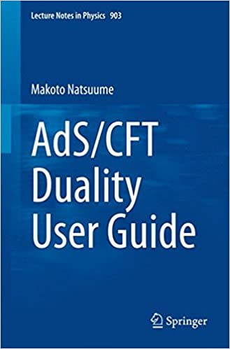 AdS CFT Duality User Guide Lecture Notes In Physics 2015th Edition