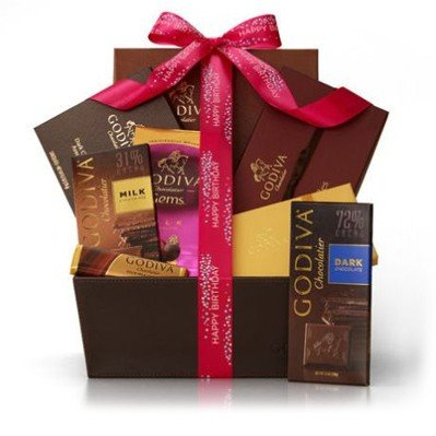 Chocolate Temptations Happy Birthday Basket