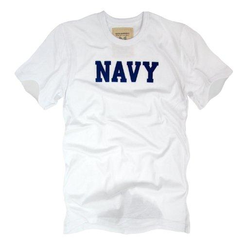 Navy Felt Applique T-shirt - 5
