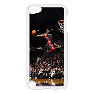 iPod Touch 5 Case White he99 lebron james dunk nba sports art basketball OJ623816