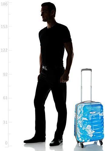 41WvryFE%2BTL Skybags Trooper 55 Cms Polycarbonate Blue Hardsided Cabin Luggage