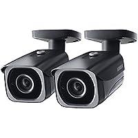 2- Pack of Lorex 8MP 4K IP Motorized Varifocal Zoom Bullet Security Camera LNB8973BW, 250ft IR Night Vision, 4x Zoom