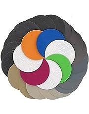 Polijsten, schuren schuurpapier 30PS 75-80mm / 3 inch grofzand 800/1000/1200/1500/2000/3000 Watergedroogd schuurpapierblad haak en lus schuurpapier ronde schuurpapier schuurpapier