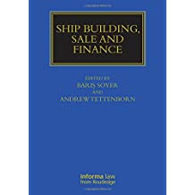 Ship Building, Sale and Finance
