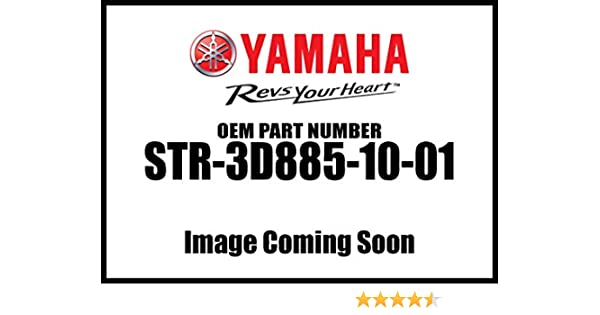 YAMAHA STR-3D885-10-01 Chrome Upper Belt Guard V-Star 1300