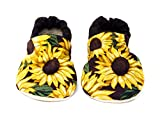 Sunflower Baby Shoes
