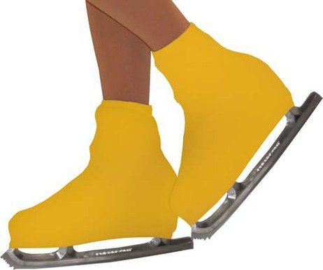 Chloe Noel Figure Skating Boot Cover B01 Gold Adult -