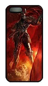 3D Angry Soldiers Polycarbonate Custom iphone 6 4.7 S/5 Case Cover - Black