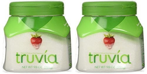 Truvia Nature's Calorie Free Sweetener Sugar Bowl Size Pack 9.8 Ounces (Pack of 2) by Truvia