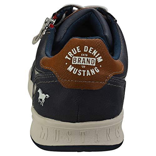 800 Hombre Zapatillas 309 4098 800 Mustang Azul dunkelblau Para fwPxcX