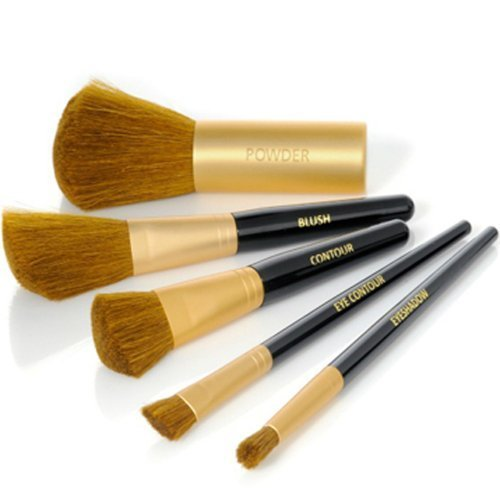 Signature Club A 5-piece Professional Makeup Artist Brush Set by USA