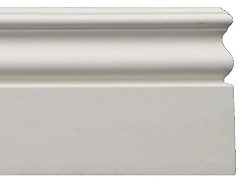 Base Trim - Baseboard Molding - Height: 4-3/4
