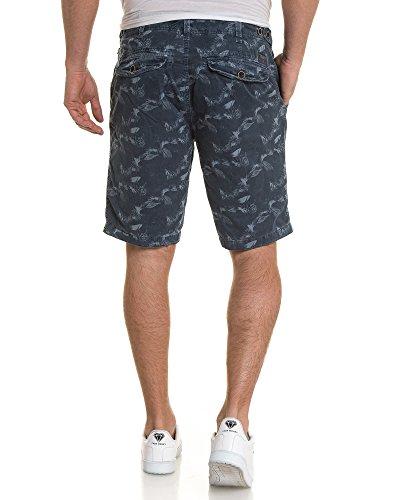 PETROL INDUSTRIES - Pantalón corto - recta - para hombre Azul