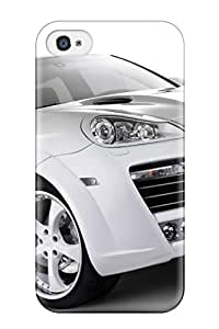 Premium DKakWUT351flFhv Case With Scratch-resistant/ Car White Case Cover For Iphone 4/4s