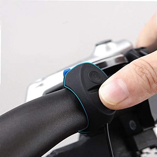 qumingchenba Electronic Electric Bicycle Loud Horn Siren Bell