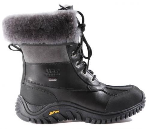 UGG Women's Adirondack II Winter Boot, Black/Grey, 6 B US by UGG (Image #2)