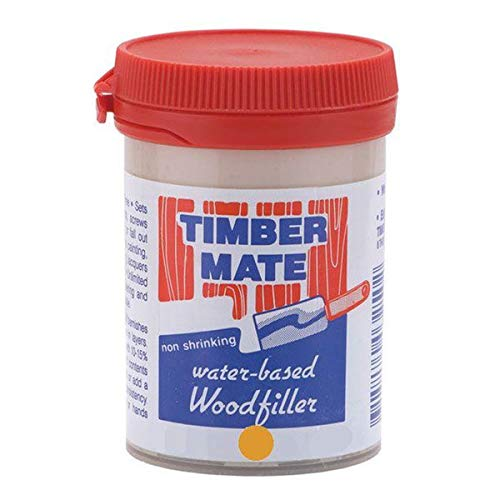 Wood Filler, Water Based, 8-oz Teak and Heart Pine
