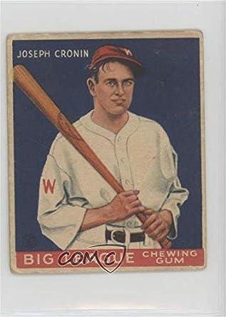 Amazoncom Joe Cronin Ungraded Comc Poor Baseball Card