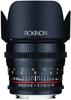 Rokinon 50mm T1.5 Cine DS Lens