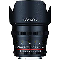 Rokinon DS50M-NEX Cine DS 50 mm T1.5 AS IF UMC Full Frame Cine Wide Angle Lens for Sony E-Mount Cameras (NEX)