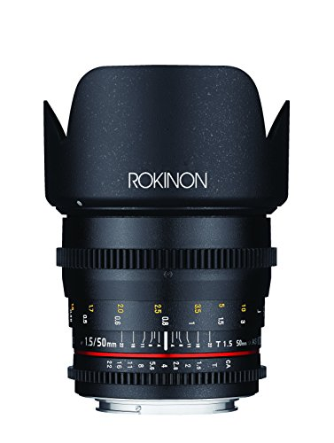 Rokinon Cine DS 50mm T1.5 Lens for Canon (Best Rokinon Cine Lens)