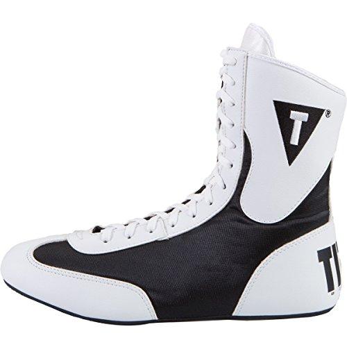 TITLE Speed-Flex Encore Mid Boxing Shoes, White/Black, (Michael Jordan Kids Costume)