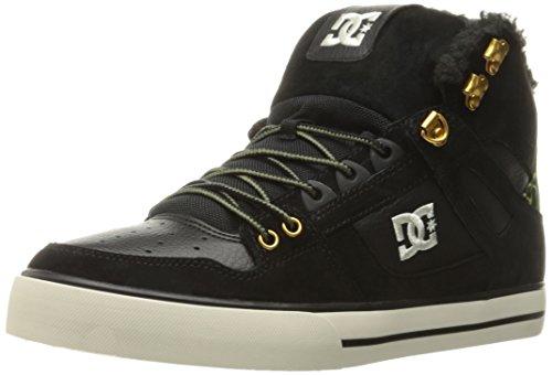 DC Men's Spartan High WC WNT Sneaker Black/Camo