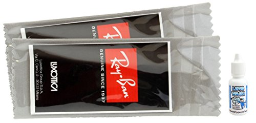 Ray Ban Lens Cleaning Cloth, 2 pack, free - Luxottica Rayban
