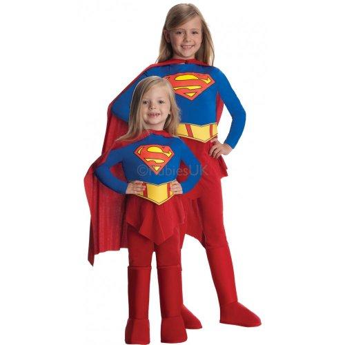 [Supergirl Classic Costume,size 12-14] (Supergirl Costume Size 22)