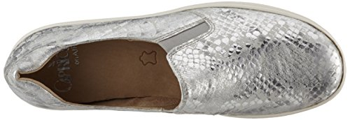24662 Silver Metal Silver Caprice Loafers Women's H1wUq558