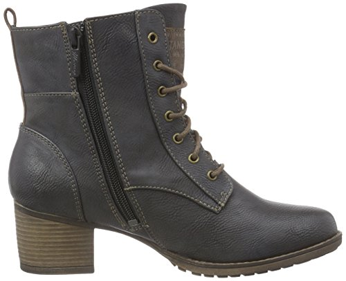 Ankle Mustang Heel Ankle Boots Boot Womens 5ZvBwn0Fqv