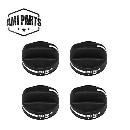 - 8273103 Range Control Knob Replacement Part by AMI PARTS - Compatible with Whirlpool Gas Stove - Replace WP8273103 AP6012363-4 Pack