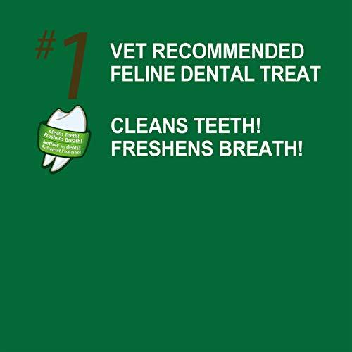 FELINE GREENIES Dental Cat Treats Oven Roasted