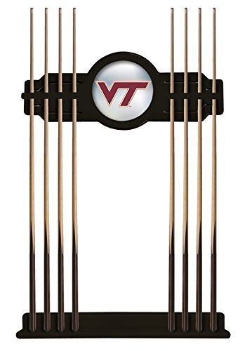 Holland Bar Stool Co. Virginia Tech Cue Rack in Black Finish