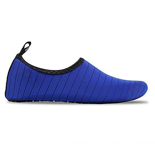 On Socks Slip Kids for Yoga NEWCOSPLAY Dry Quick Stripeblue Barefoot Shoes Women Men qpxXSF0