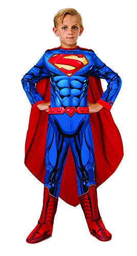 Girl Superman Costumes (Rubies DC Universe Superman Costume, Child Small)