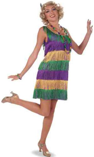 Amazon Gras Mardi Costumes (Forum 1920's Masquerade Party Costume, Multi-Colored, One)