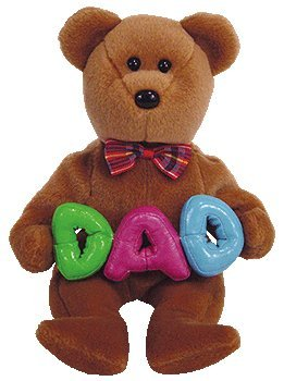 Ty Beanie Babies - Dad The Bear (Ty Store Exclusive)