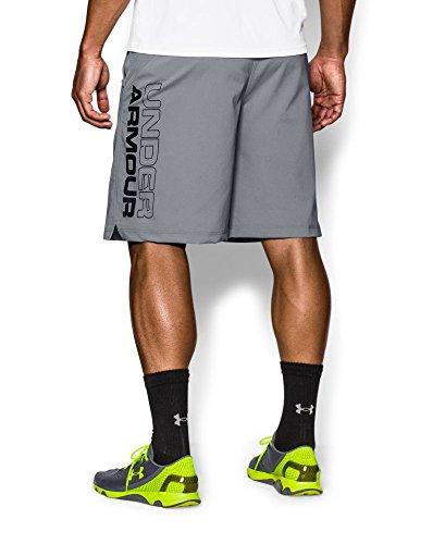 Under Armour Men's UA HIIT Woven Shorts Medium Steel