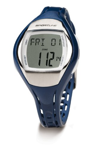 Sportline Women's Duo 1010 Dual Use Heart Rate Monitor - Sil