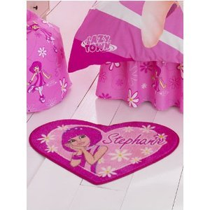 Lazy Town, Lazytown, Stephanie Floor Rug, Kids Girls Room Decor