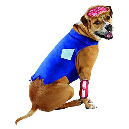 Zombie Dog Pet Halloween Costume (Zombie Costume For Dogs)