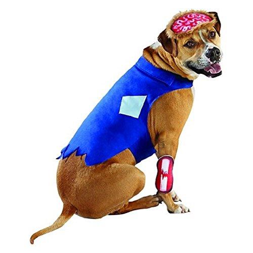 Zombie Dog Pet Halloween Costume -