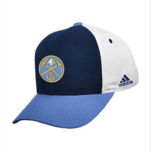 fan products of NBA Denver Nuggets Youth Boys 8-20 Structured Adjustable Cap, Light Blue, 1 Size