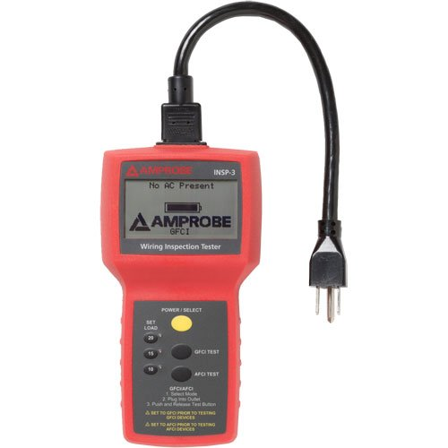 Amprobe INSP-3 Wiring Inspection Tester (Circuit Analyzer Suretest)