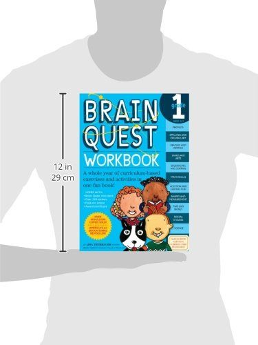 Brain Quest Workbook: Grade 1: Lisa Trumbauer: 9780761149149 ...