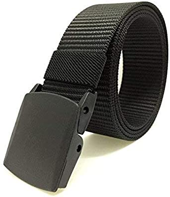 Nylon Military Tactical Duty Casual Slide Buckle Belt