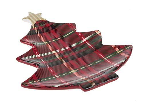 Ganz - Lodge Tableware - Tree Shaped Serving Plate (EX16645)