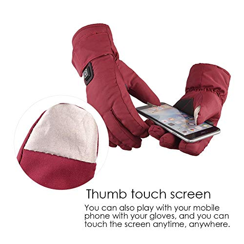 Yunt Electric Heated Gloves,Waterproof Touch Screen Heating Gloves by Yunt (Image #4)
